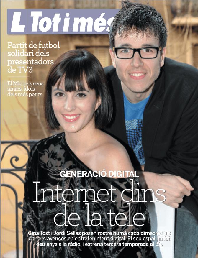 Revista Lecturas entrevista a Gina Tost
