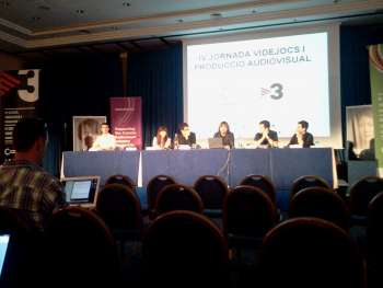 IV Jornada de videojuegos y medios en Sitges