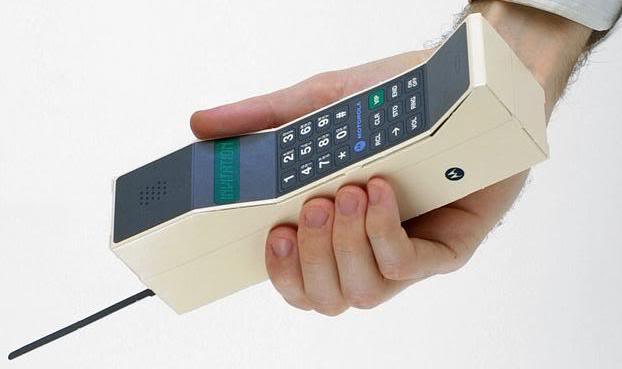 El móvil hace 30 años